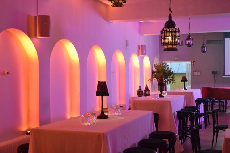 Geburtstagsfeier Casablanca – Motiv 02 - Design GmbH Eventagentur