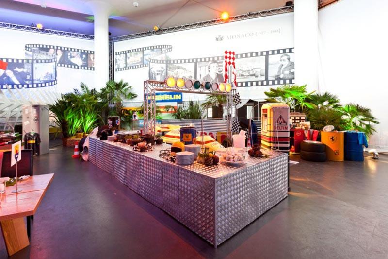 Geburtstagsfeier Postpalast – Motiv 01 - Design GmbH Eventagentur
