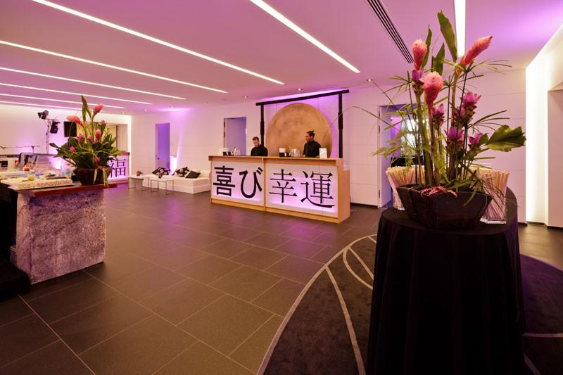 Zen Garden – Motiv 05 - Innenhof München - Design GmbH Eventagentur